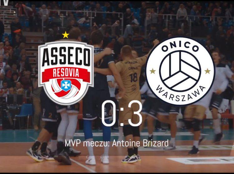 Mecz Asseco Resovia – Onico Resovia